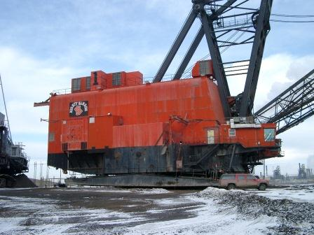 Marion 8750 dragline project from Canada to Bown Basin. John Palmer was the project manager for the overall project to purchase, dismantle, import and erect the dragline.