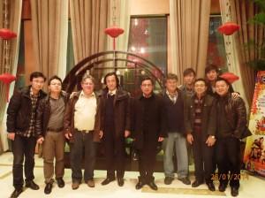 China Dinner crew 2013